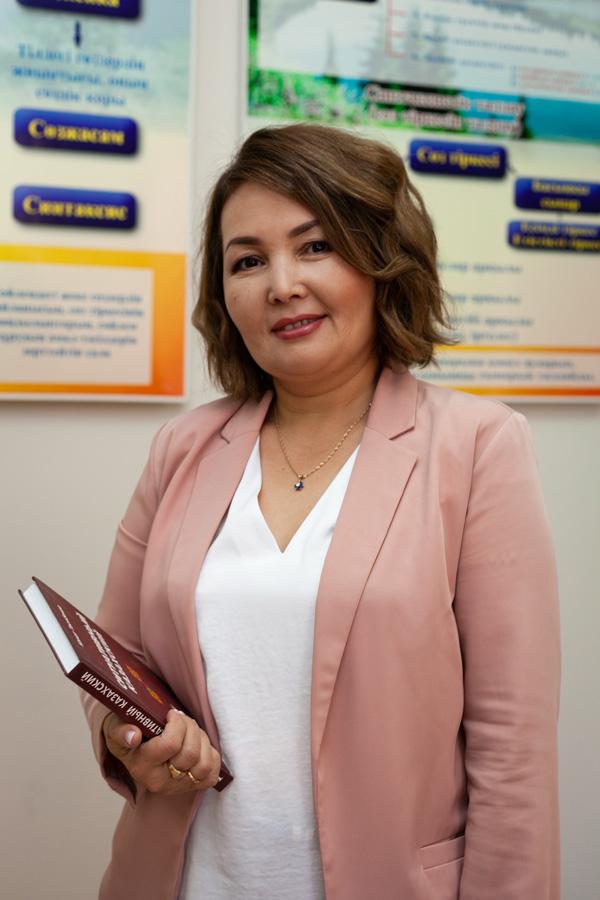 Сейсенбаева Аусулу Сайлауовна - Учитель казахского языка