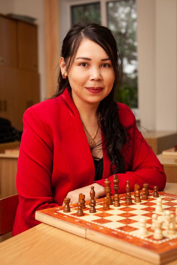 Кыпшакбаева Акерке Алмаскызы - Учитель по шахматам