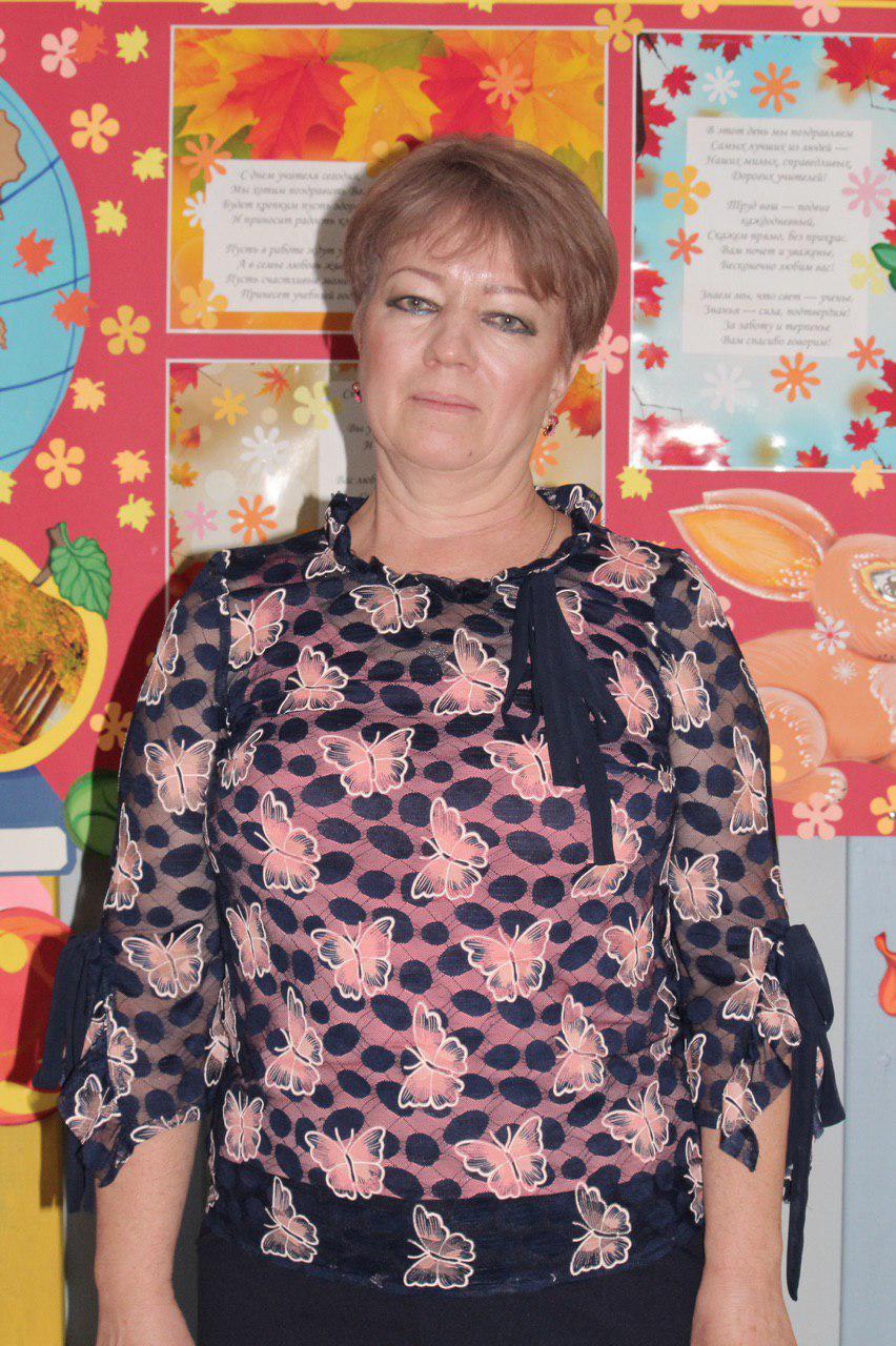 Редина Татьяна Александровна - Учитель класса предшкольной подготовки неполного дня